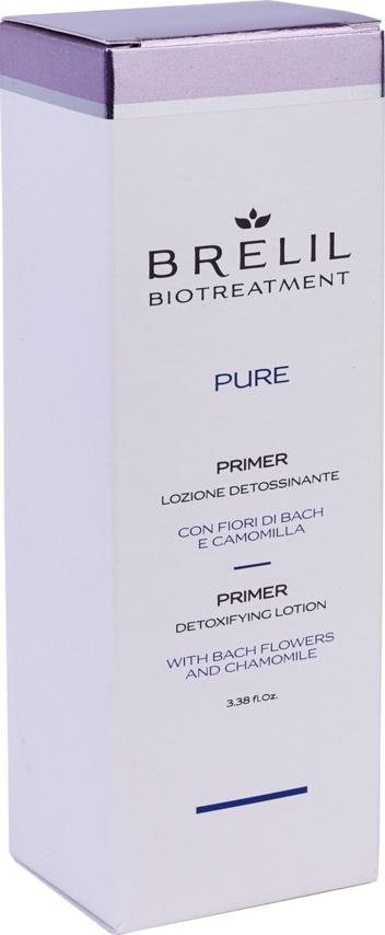 Очищающий праймер для кожи головы Brelil BioTreatment Pure, 100 мл
