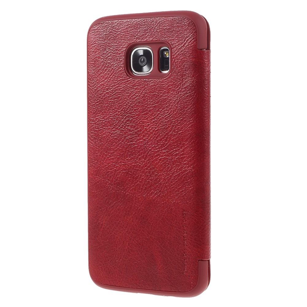 Чехол для сотового телефона Nillkin Samsung S7 Edge Чехол-книжка кожаная с отделом для карты QUIN, красный