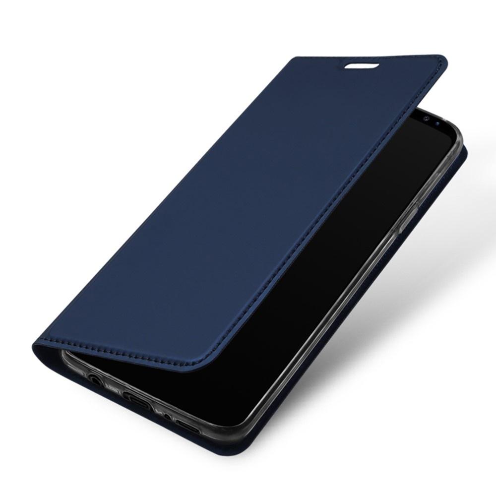 Чехол для сотового телефона Мобильная мода Samsung S9 Plus Чехол-книжка с подставкой и отделом для карты DUX DUCIS, синий чехол для сотового телефона мобильная мода samsung s9 чехол книжка пластиковая под оригинал 1535 синий