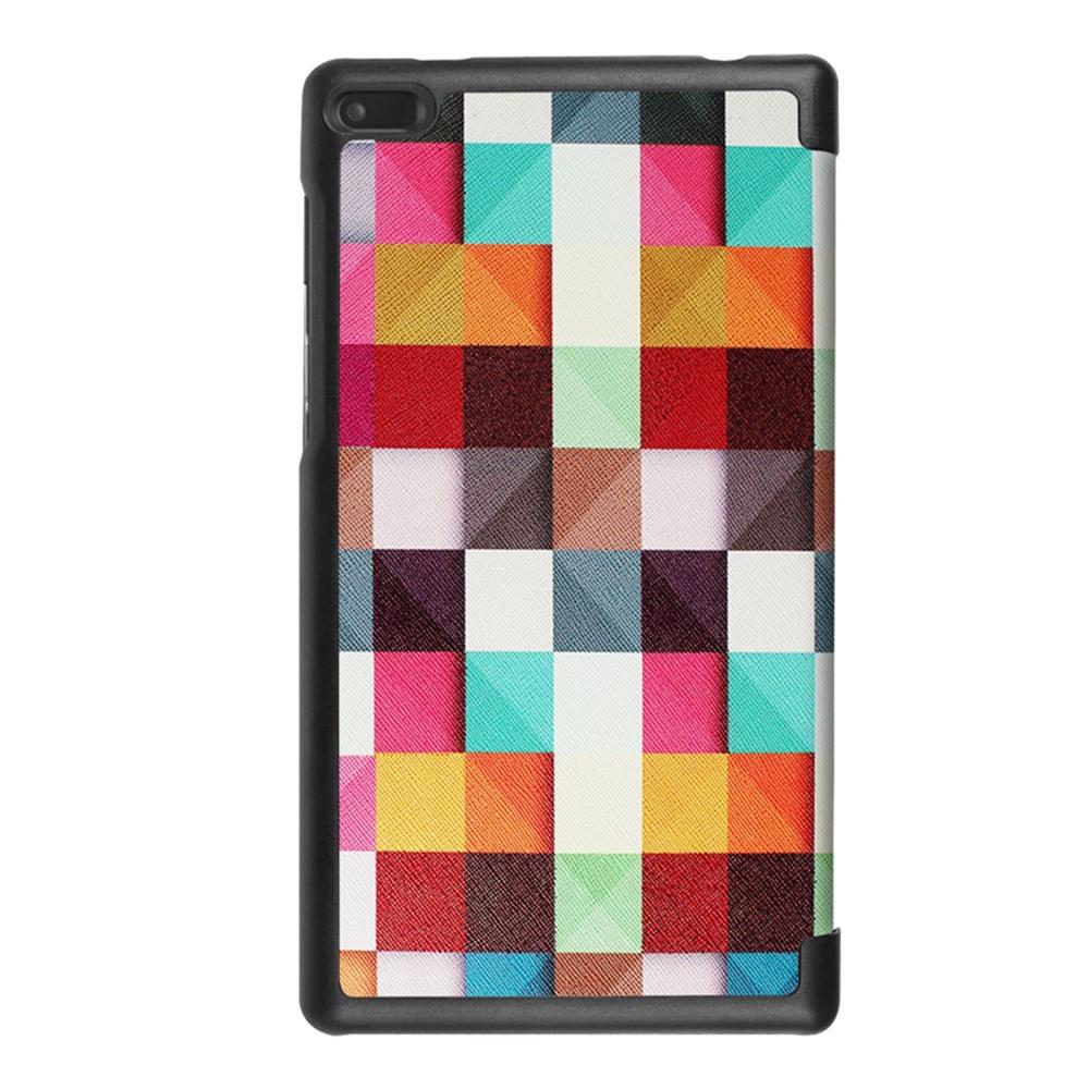 Чехол для планшета Мобильная мода Lenovo Tab 7 (2017) Чехол-книжка с рисунком