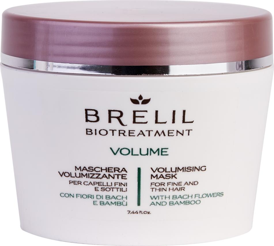 Маска для создания объема волос Brelil BioTreatment Volume, 220 мл цена