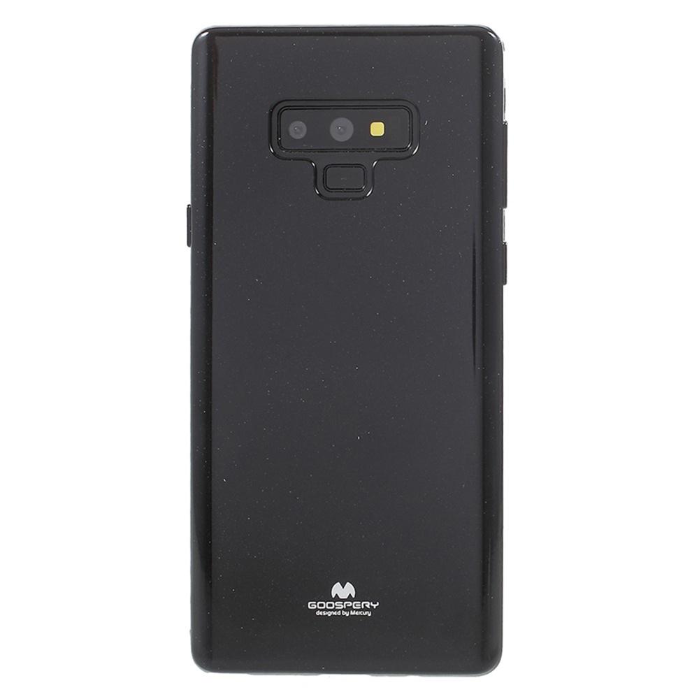 Чехол для сотового телефона Мобильная мода Samsung Note 9 Накладка силиконовая ламинированная пленкой Jelly Case, черный