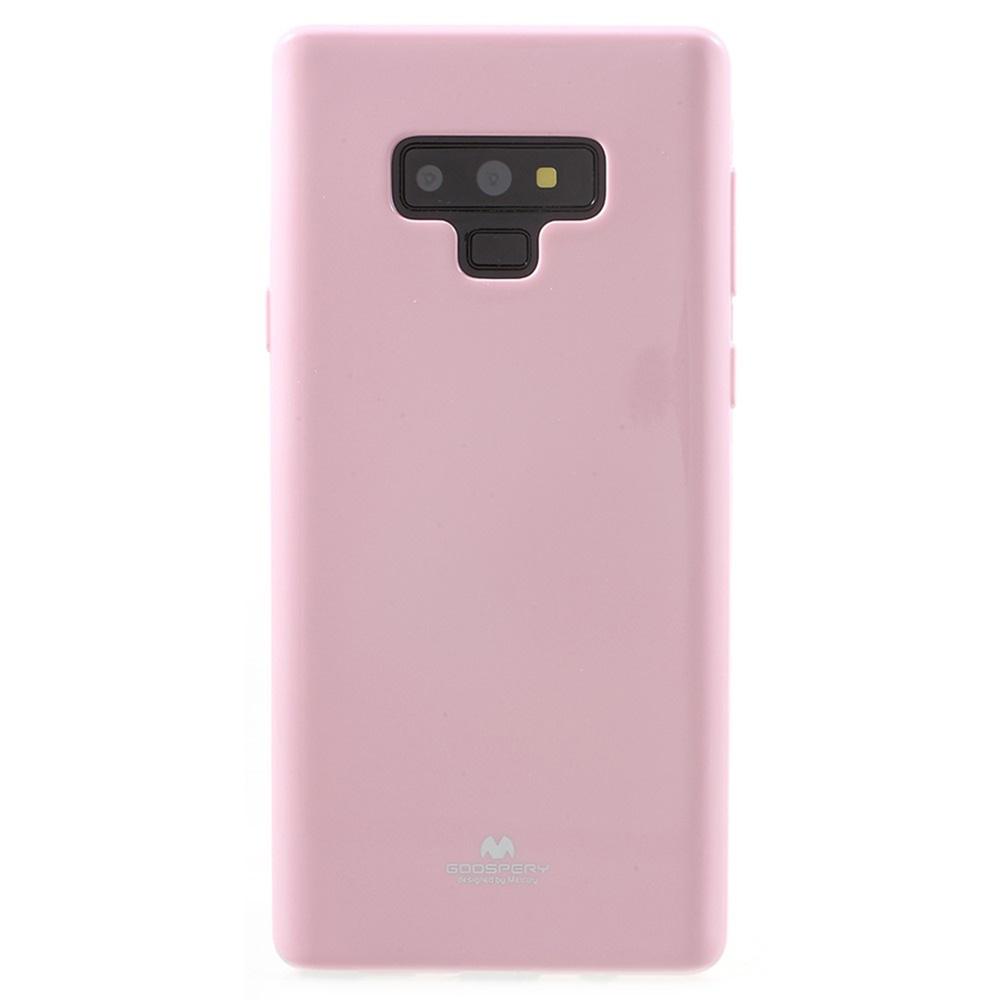 Чехол для сотового телефона Мобильная мода Samsung Note 9 Накладка силиконовая ламинированная пленкой Jelly Case, розовый чехол для сотового телефона мобильная мода samsung grand prime g530 j2 prime накладка силиконовая jelly case