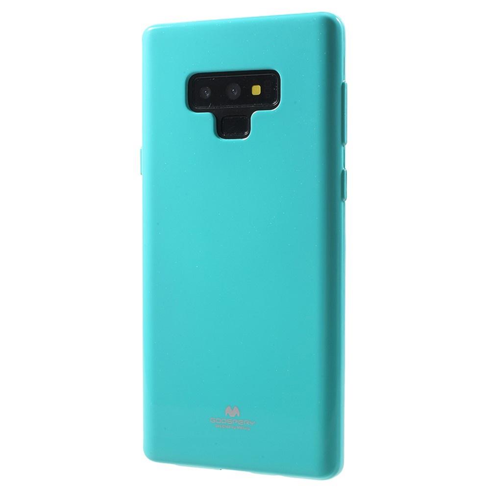 Чехол для сотового телефона Мобильная мода Samsung Note 9 Накладка силиконовая ламинированная пленкой Jelly Case, бирюзовый чехол для сотового телефона мобильная мода samsung grand prime g530 j2 prime накладка силиконовая jelly case