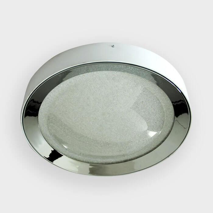Потолочный светильник Ambrella light FS1212 WH/CH 64W+23W D500, LED, 87 Вт ambrella встраиваемый светильник ambrella led s701 cl ch ww