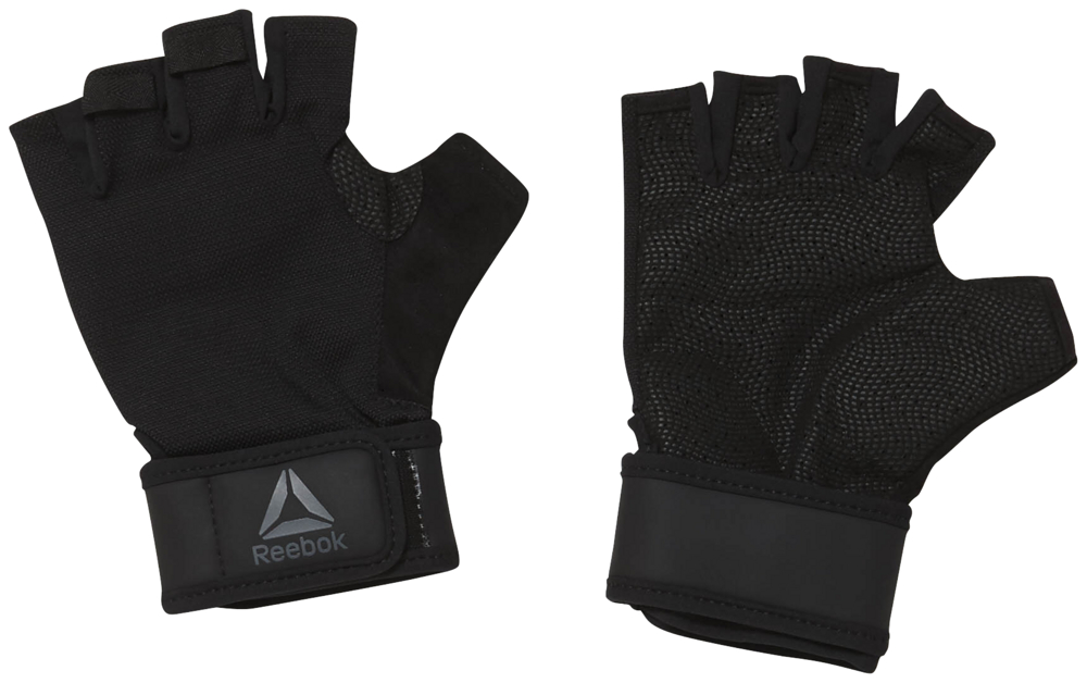 Перчатки для фитнеса Reebok OST Wrist Glove, EC5655, черный, размер L
