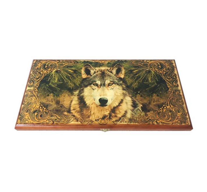 Нарды малые Таежный волк нарды гусарские 40 20 см