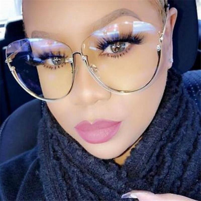Очки солнцезащитные TopSeller Женские солнцезащитные прозрачные очки