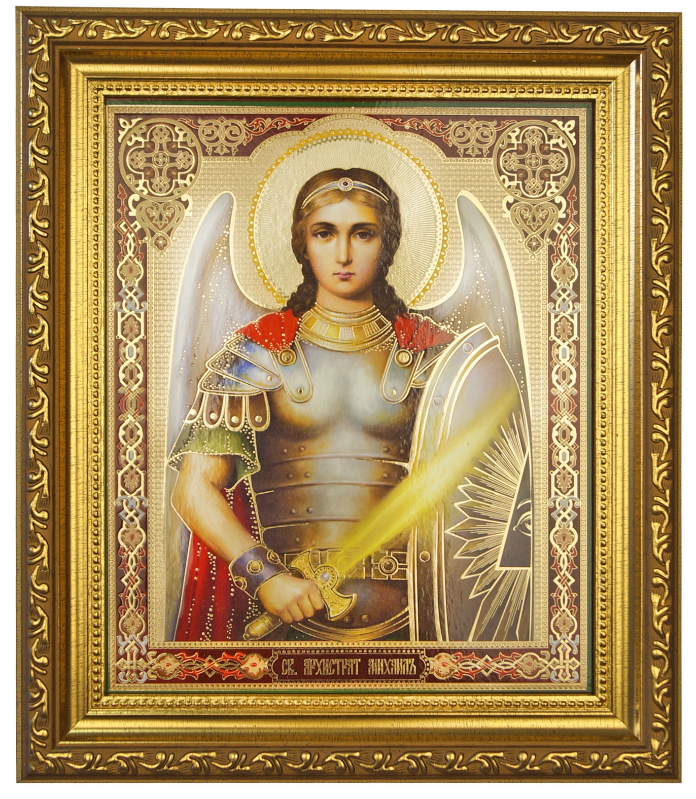 Икона Мастер Рио 1/122785, золотой икона михаила архангела