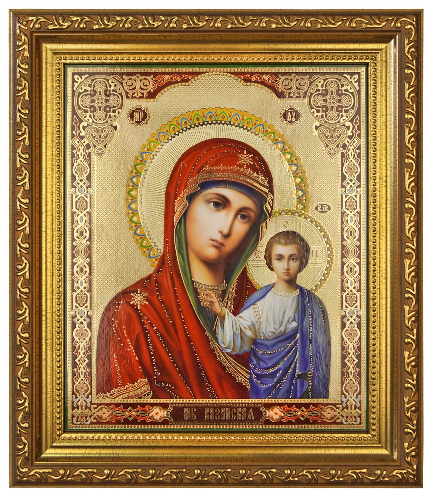 Икона Казанской Божией Матери икона navell