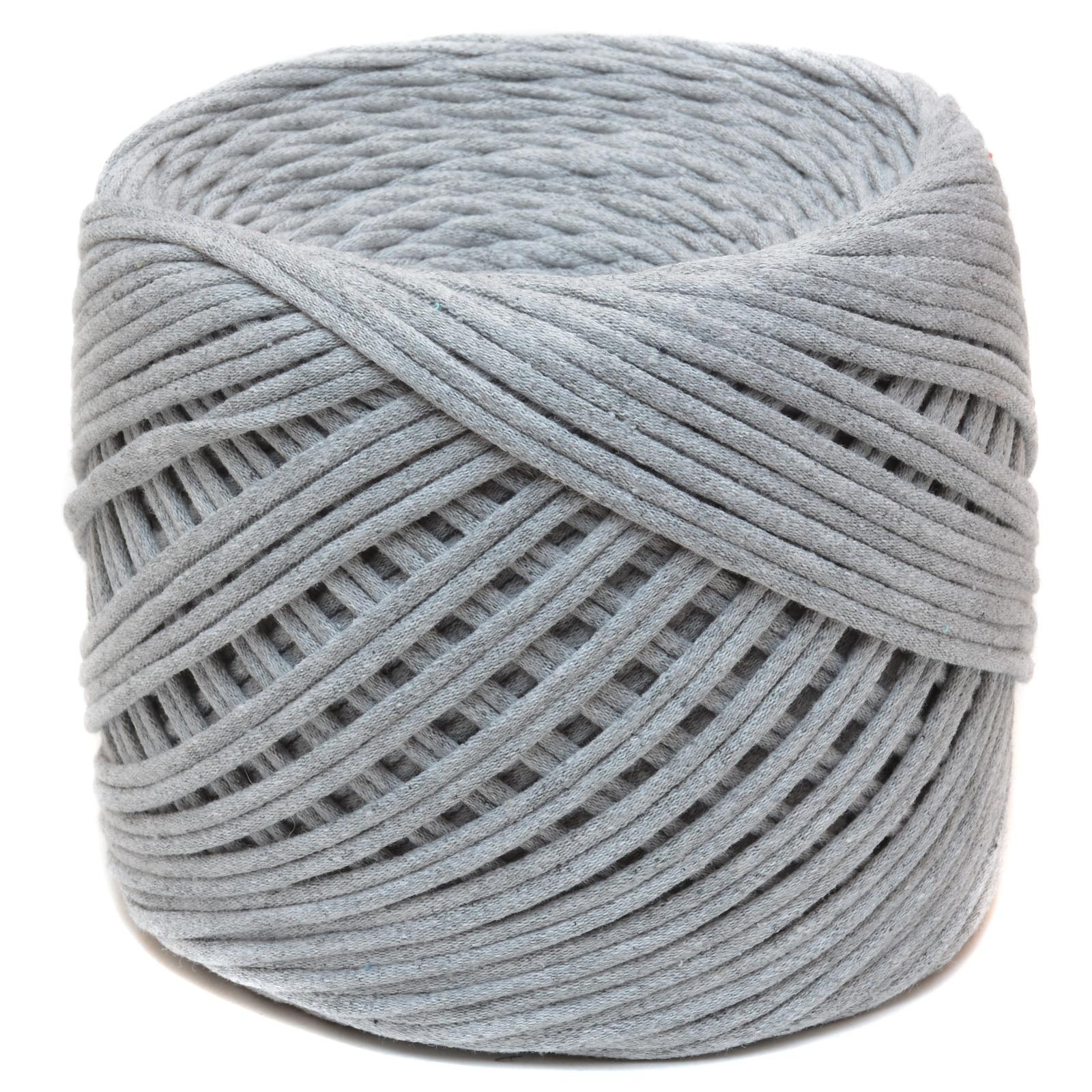 Трикотажная пряжа Saltera. Цвет Серый меланж (36)