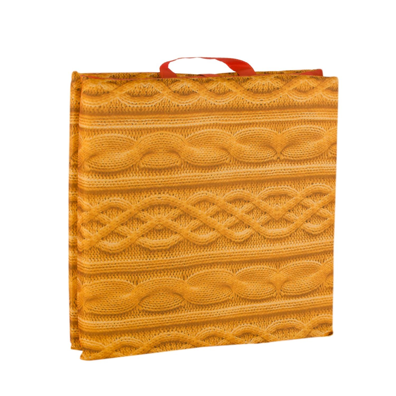 Матрас для шезлонга GiftnHome SEAT -3 Вязаный свитер (y)