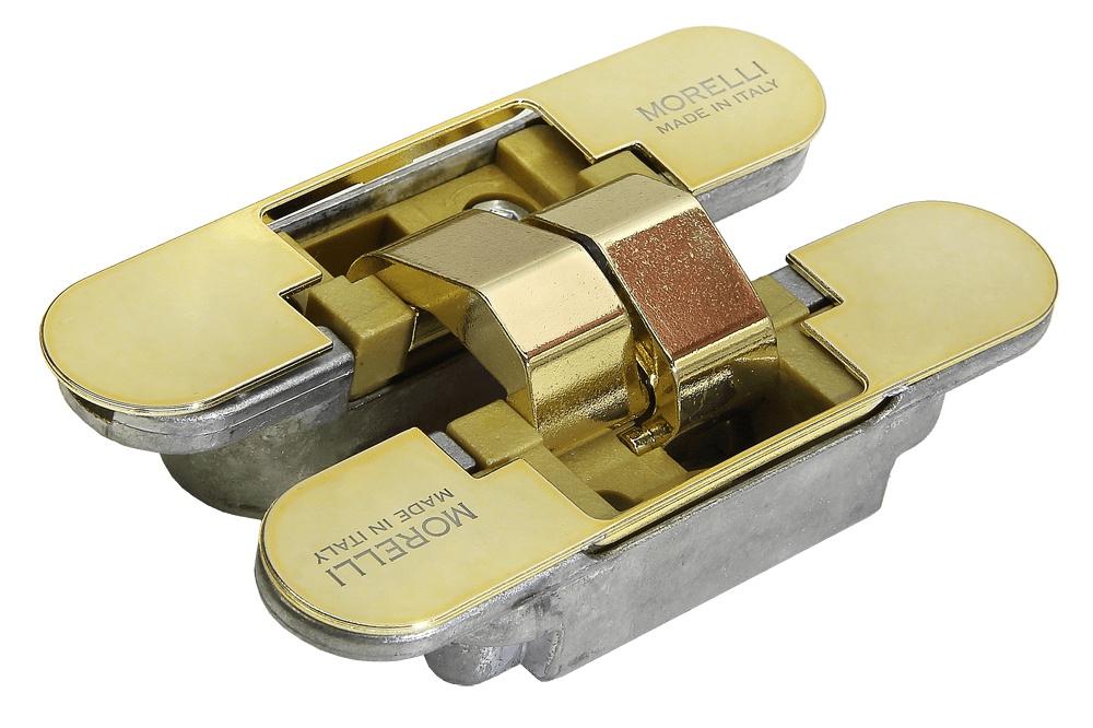 Петля дверная Morelli HH 4 РG, золотой фрезы supermario 5pcs v pcb cnc 40 0 2 inkfrog 789271748