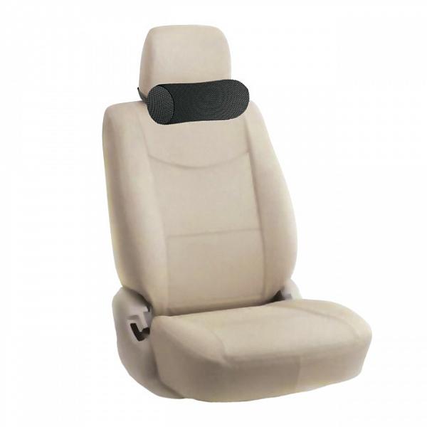 Автомобильная подушка TRELAX под голову на автомобильное сидение AUTOHEAD, черный подушка для беременных trelax