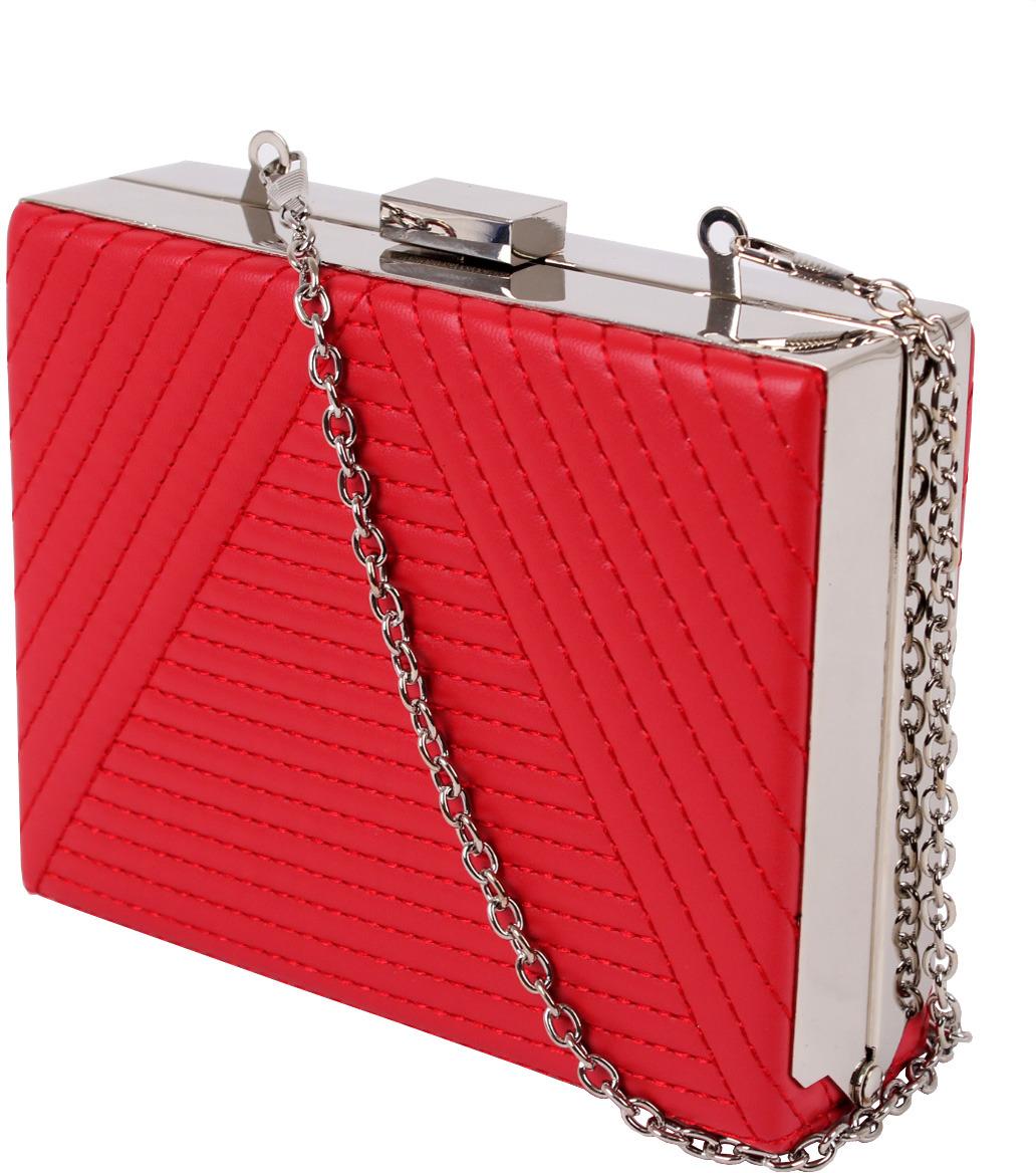 Клатч женский Flioraj, 001 red, красный клатч picard 9129 06e 001 schwarz