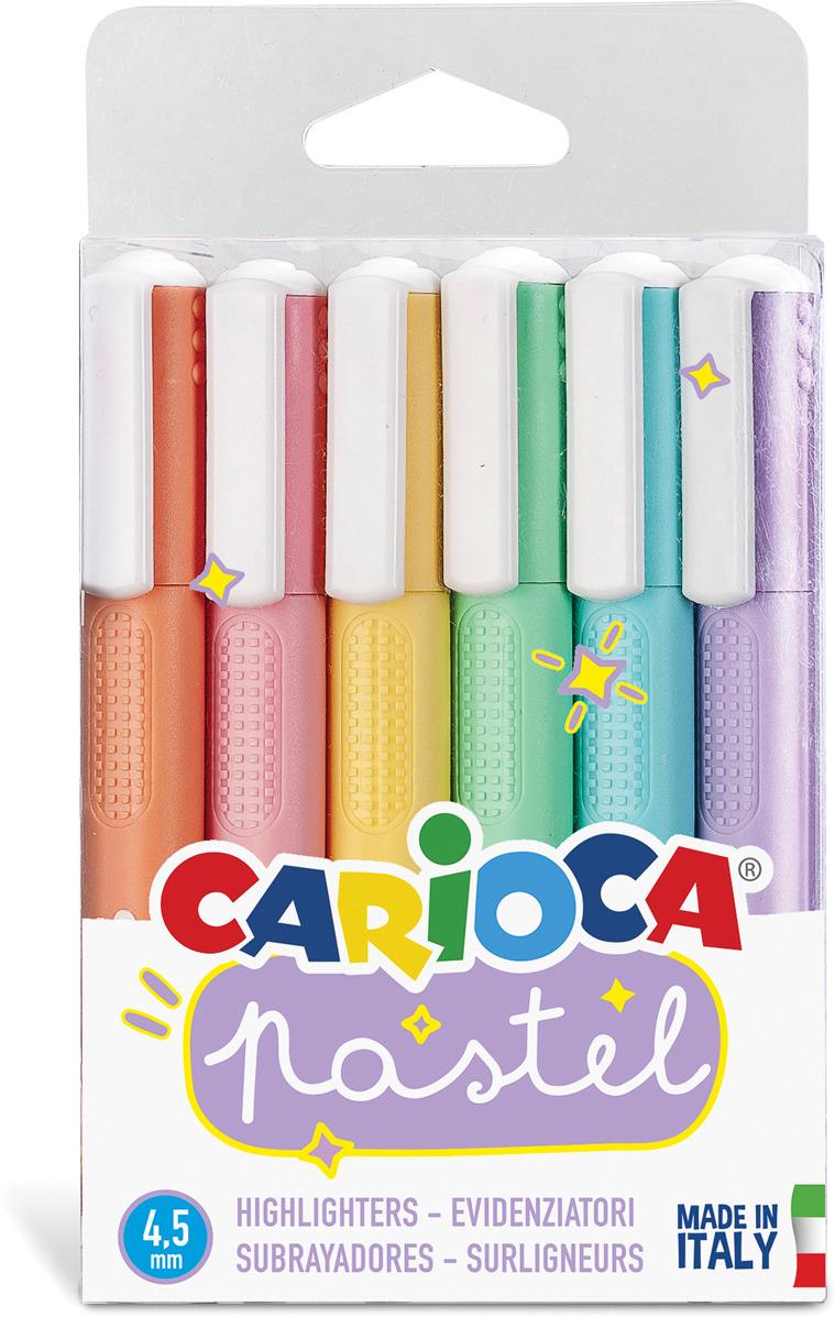 Набор маркеров Carioca Pastel, 43033, 6 цветов