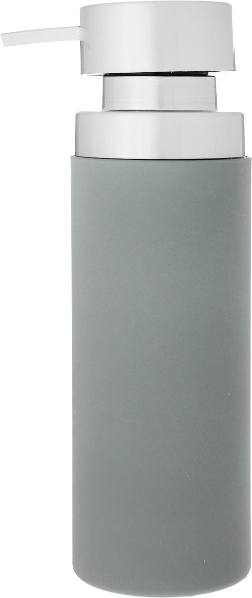 Диспенсер для мыла Axentia Lena, 126780, серый, 350 мл диспенсер для мыла axentia lena 6 5 х 6 5 х 21 см