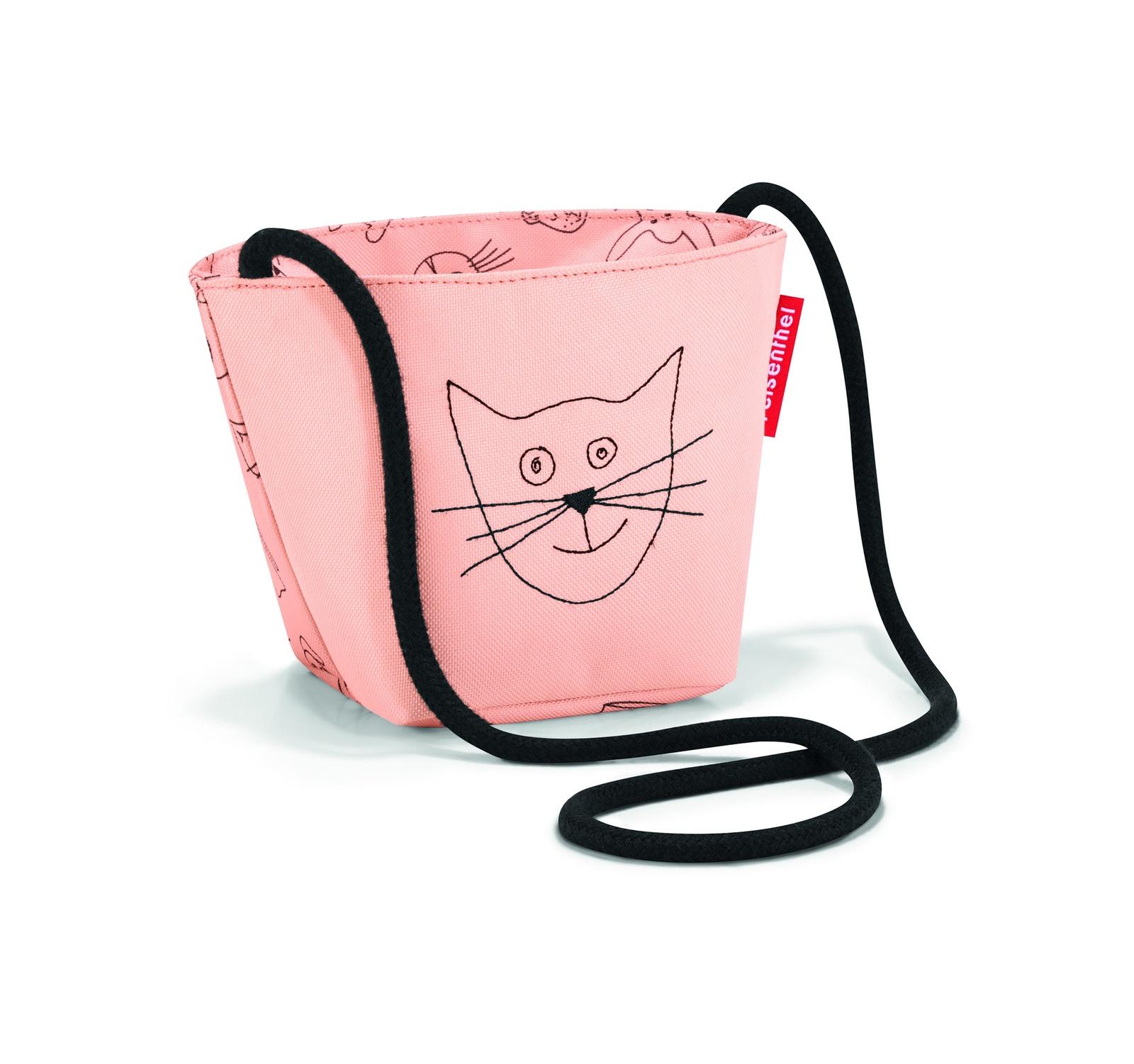 Сумка на плечо Reisenthel Minibag, розовый малыш kid дети schoolbag для мальчика девочка 3d мультфильм животных рюкзак мешок школы детский сад дети детская сумка
