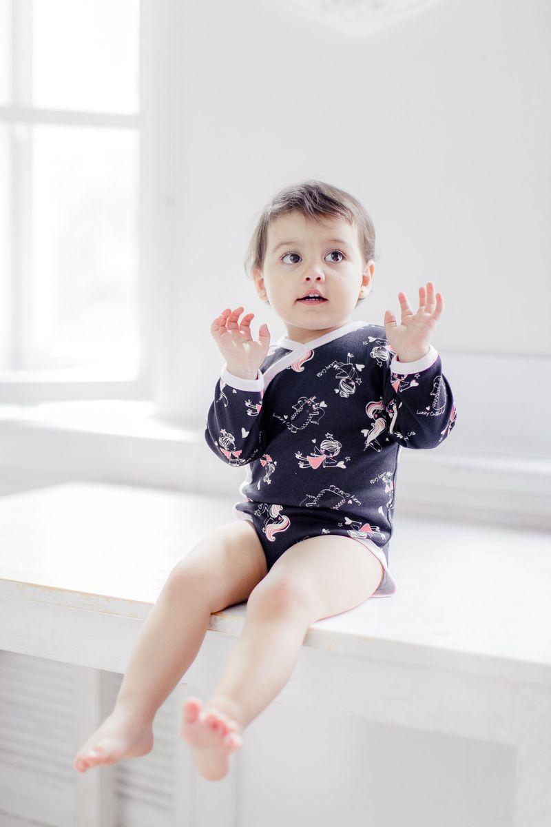 Фото - Боди Lucky Child боди детский luvable friends 60325 f бирюзовый р 55 61