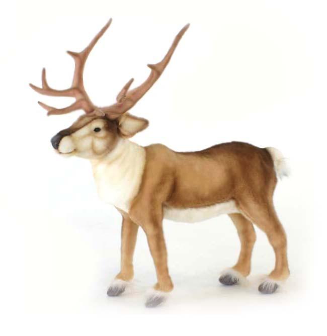 Мягкая игрушка HANSA 5373 archpole настенные рога с головой дорогой олень