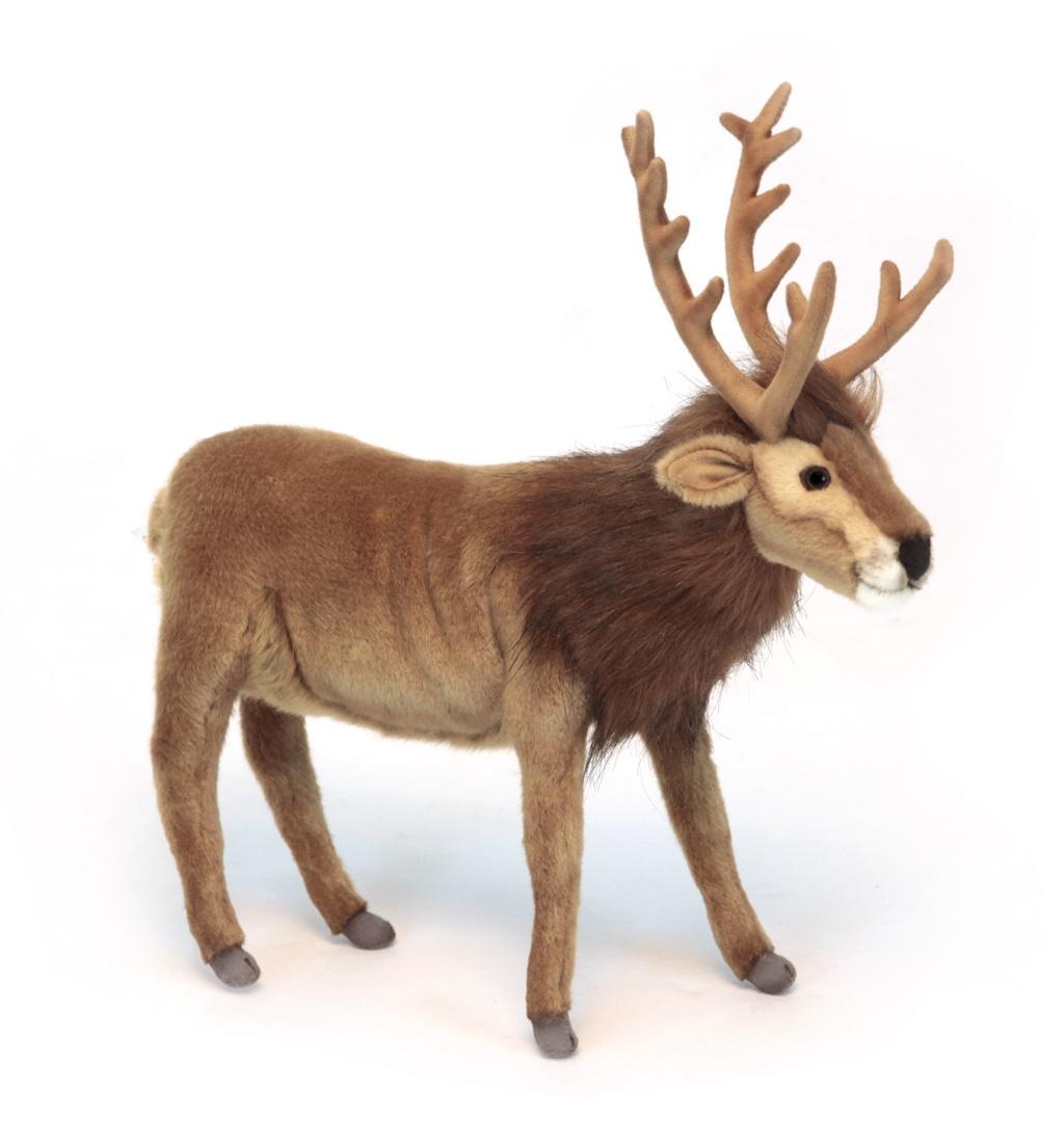 Мягкая игрушка HANSA 6189 archpole настенные рога с головой дорогой олень