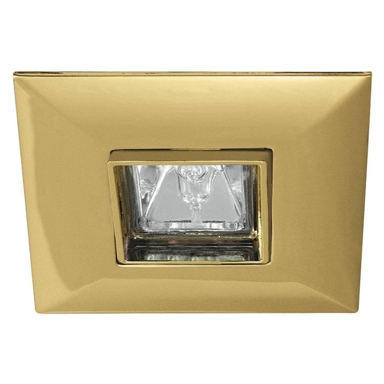 Встраиваемый светильник Paulmann 5706, золотой paulmann 70423