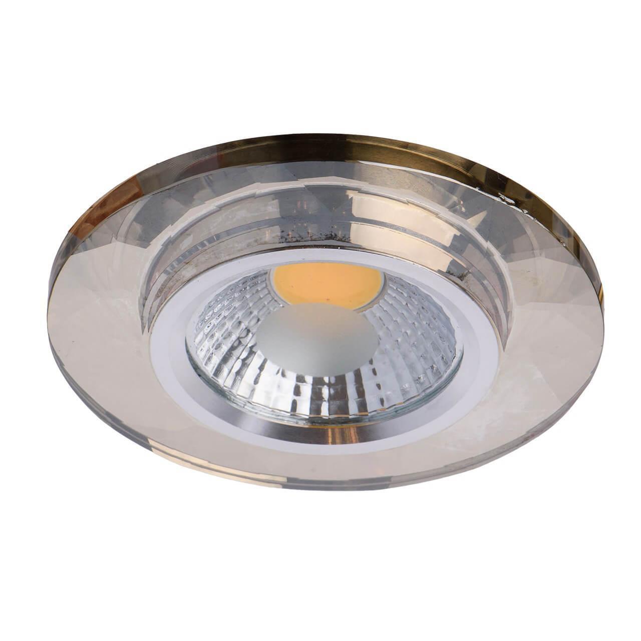 Встраиваемый светильник De Markt 637014701, коричневый беспроводной светильник mr beams mb860 task light коричневый