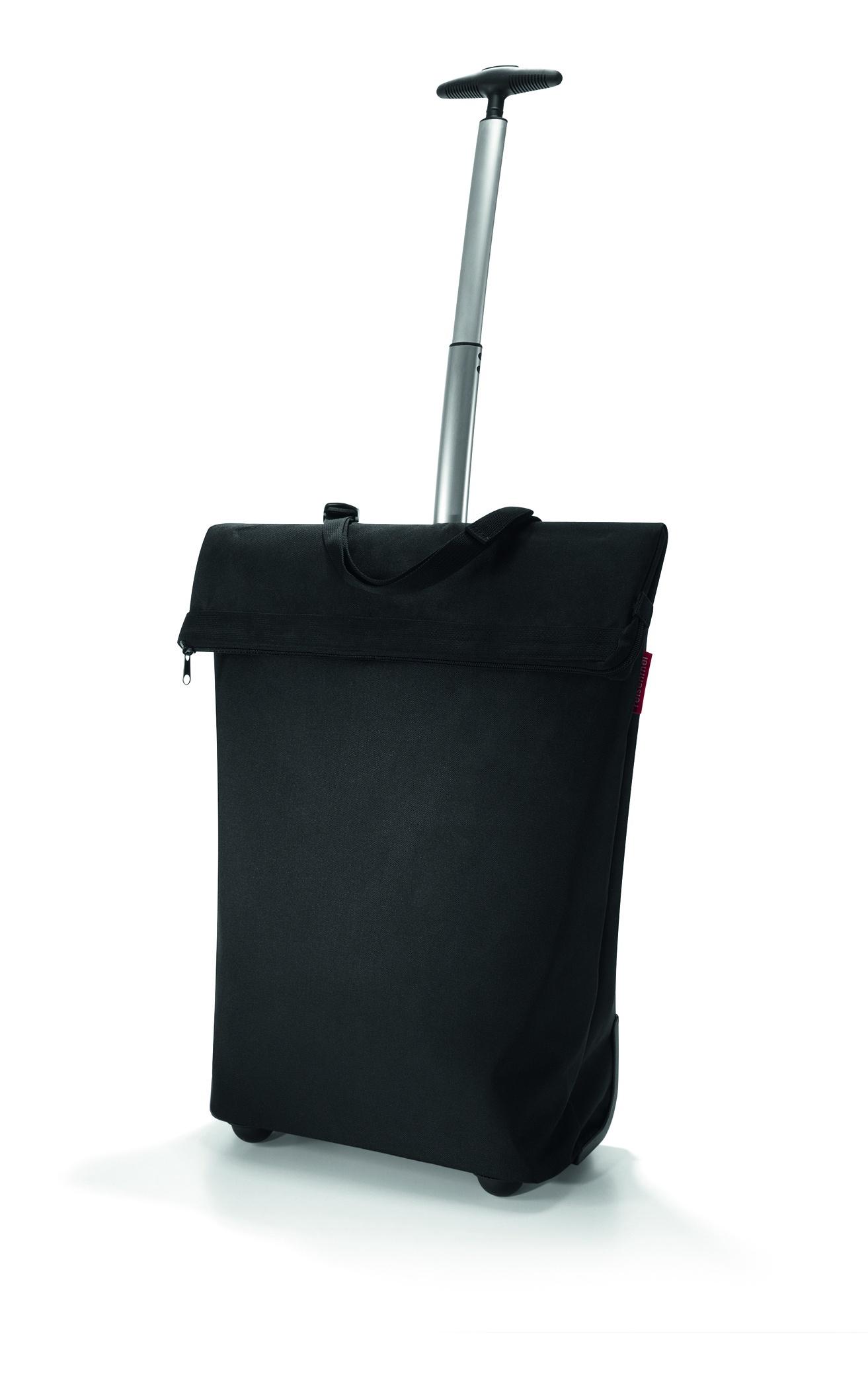 сумка-тележка reisenthel black trolley m autumn 1