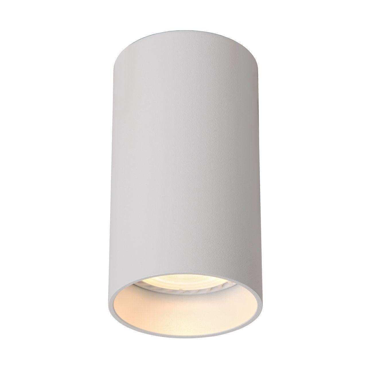 Потолочный светильник Lucide 09915/05/31, белый спот lucide xyrus white 23954 10 31