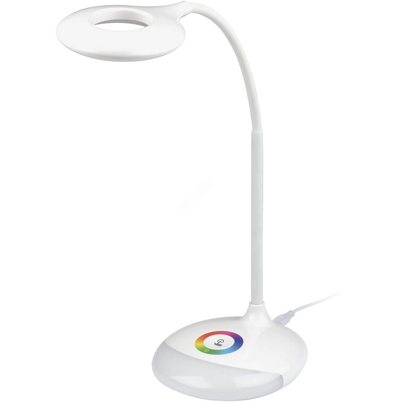 Настольный светильник Uniel TLD-535 White/LED/250Lm/5500K/Dimmer, LED, 3 Вт walang ting full color touch led dimmer white dc 12 24v