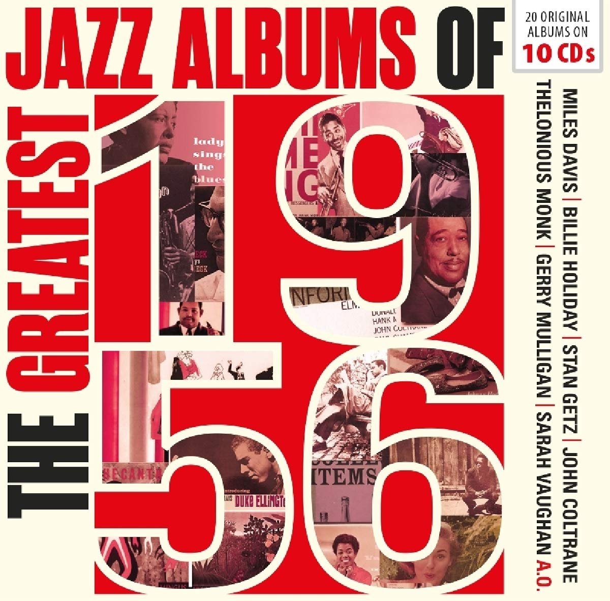 Coltrane And Many More. Best Jazz Albums of 1956 (10 CD) стоимость