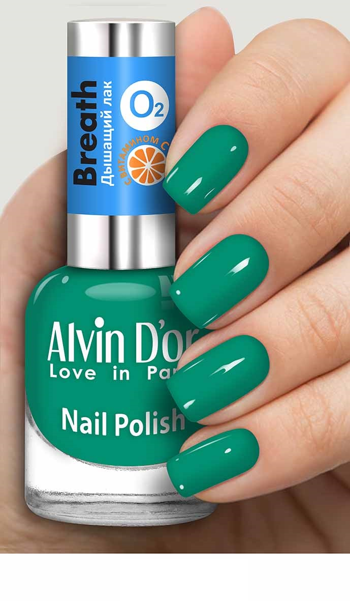 Лак для ногтей Alvin D'or;ALVIN D`OR Breath с витамином С тон 5403 средство для укрепления ногтей alvin d or alvin d or al057lwboiw7