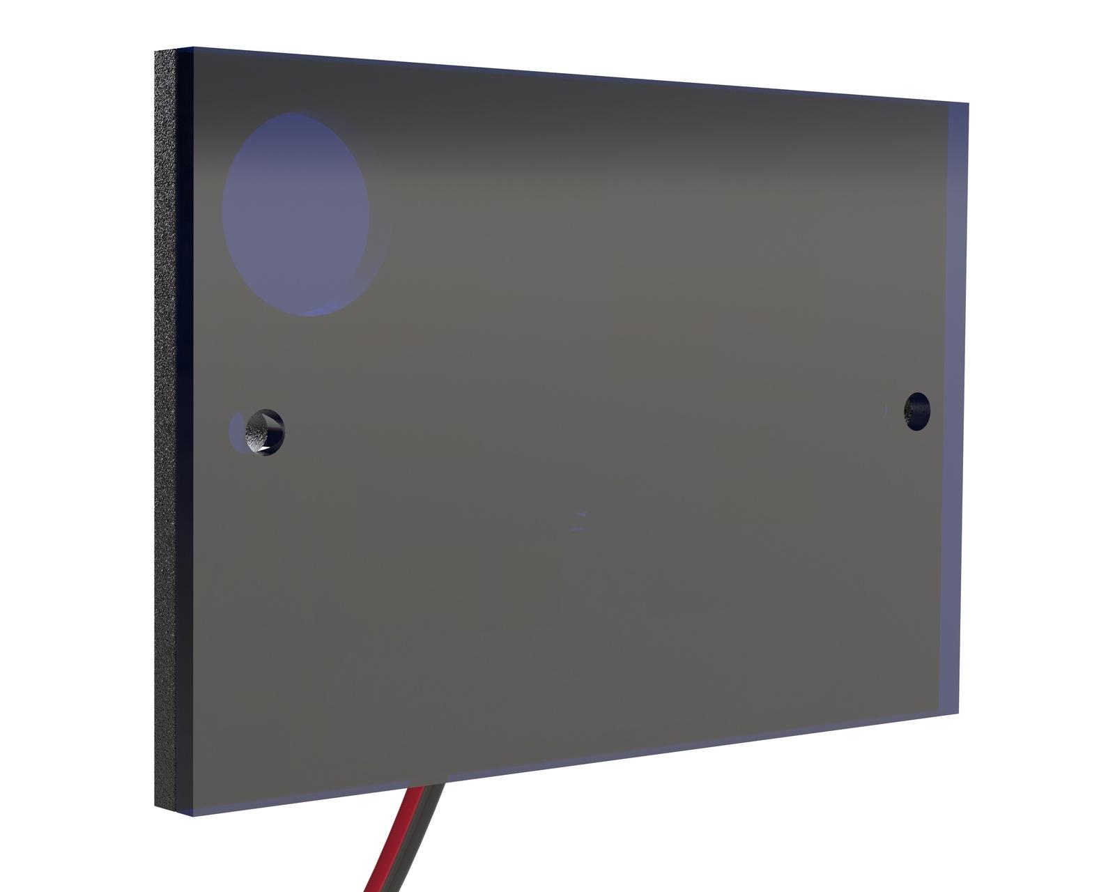 Инфракрасный прожектор Microlight IR Plate-3-850 Низкопрофильный 8 мм. Широкоугольный 120 град. Дальность до 10 метров ночного видения