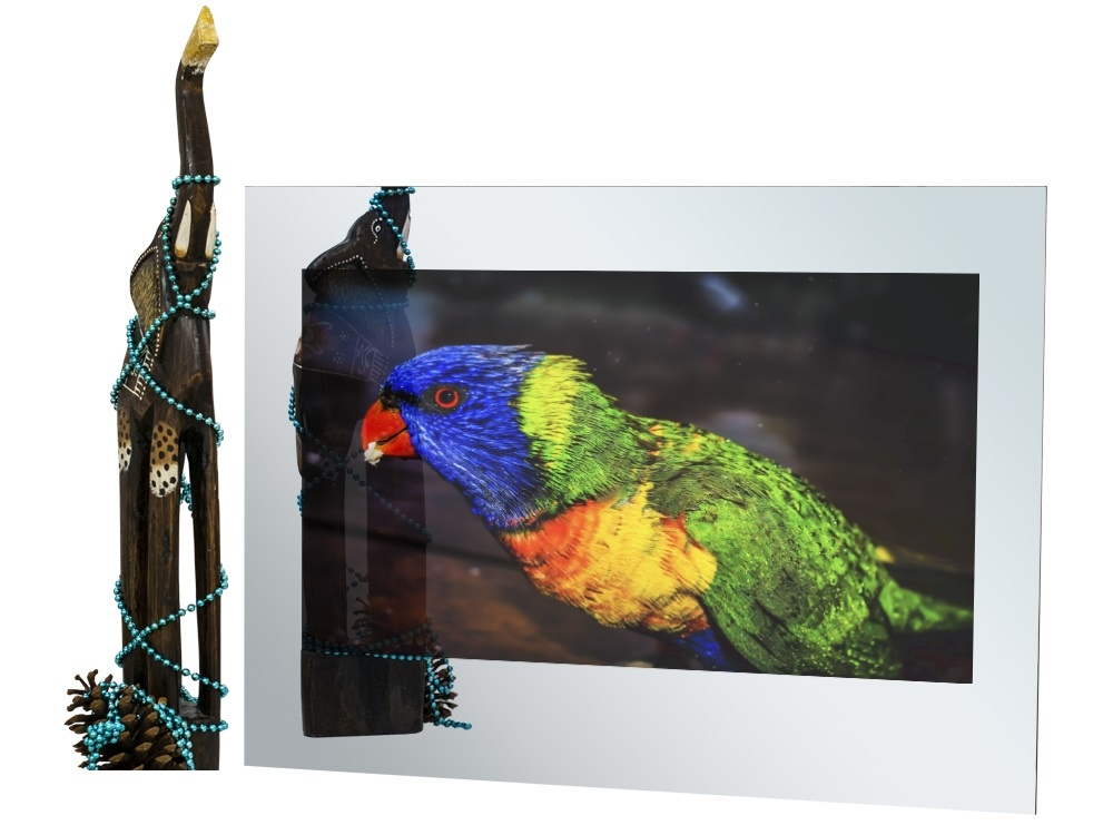 Телевизор AVEL AVS320SM (Mirror) телевизор для кухни
