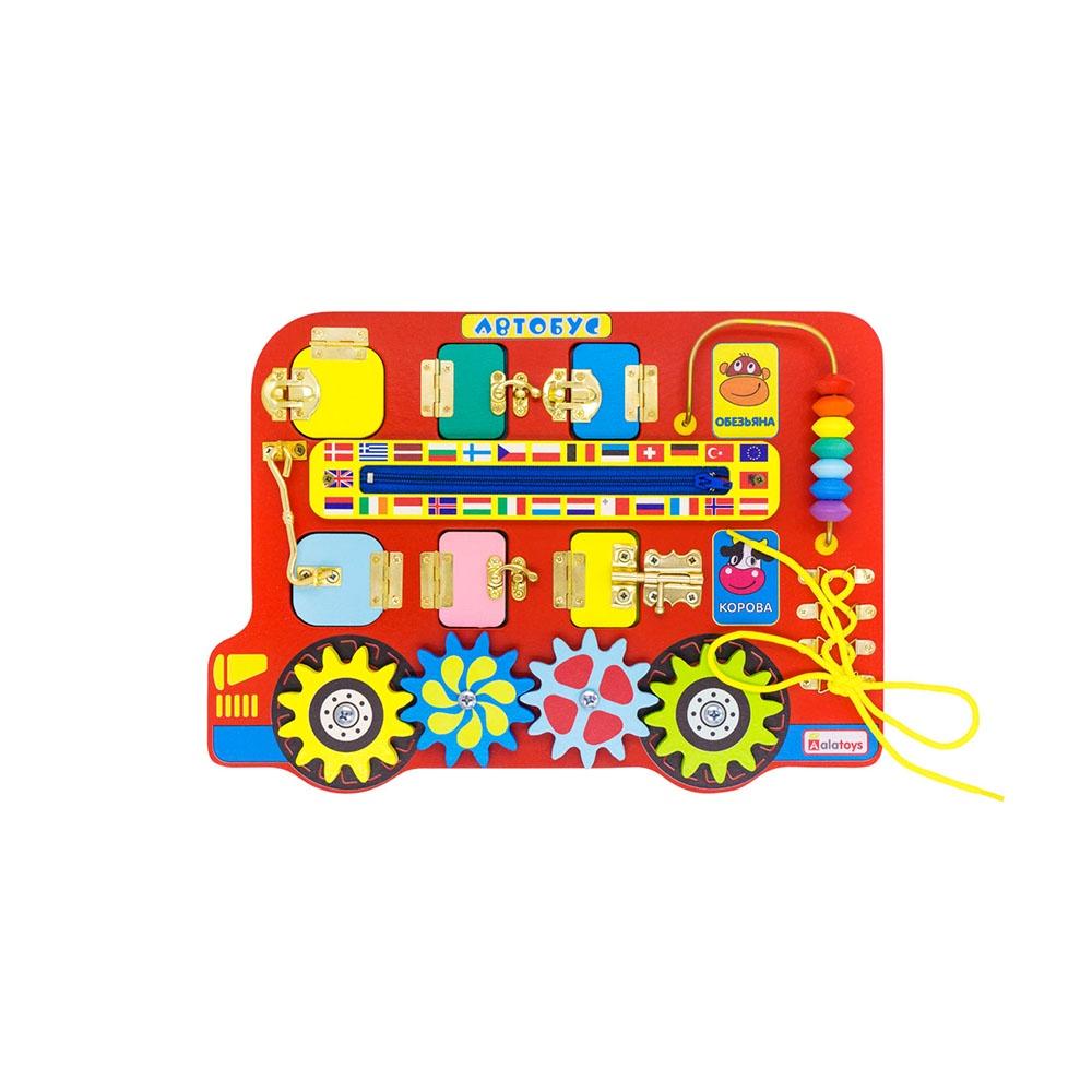 Бизиборд Alatoys Автобус бизиборд алатойс автобус