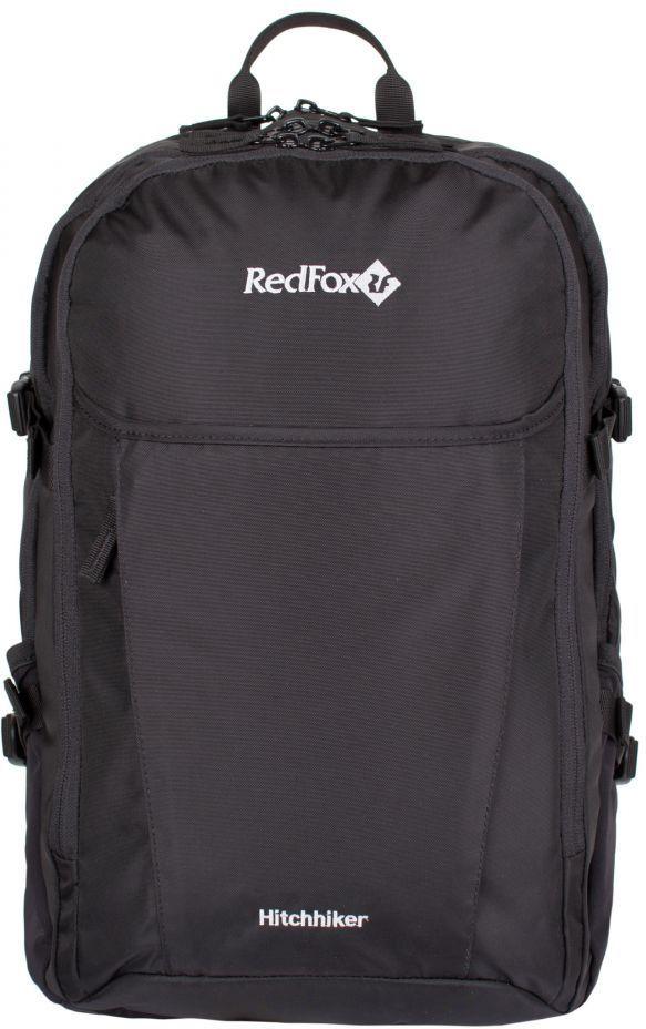 Рюкзак городской Red Fox Hitchhiker 30, цвет: черный, 30 л рюкзак туристический red fox light 80 v4 цвет авокадо 80 л