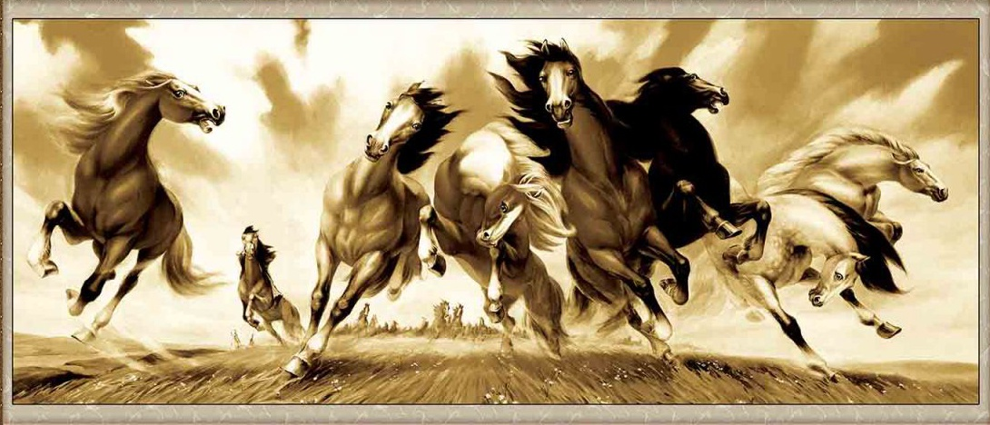 Набор для вышивания DOME Wild horses
