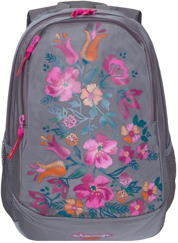 Рюкзак Orange Bear, VI-60/2, серый, 12,5 л рюкзак discovery 40х28х16см рельефная анатомическая спинка серый