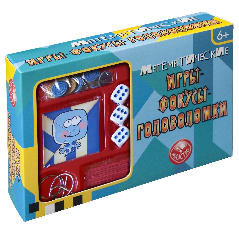 Головоломка Маэстро Математические игры-фокусы-головоломки фокусы маэстро с платком