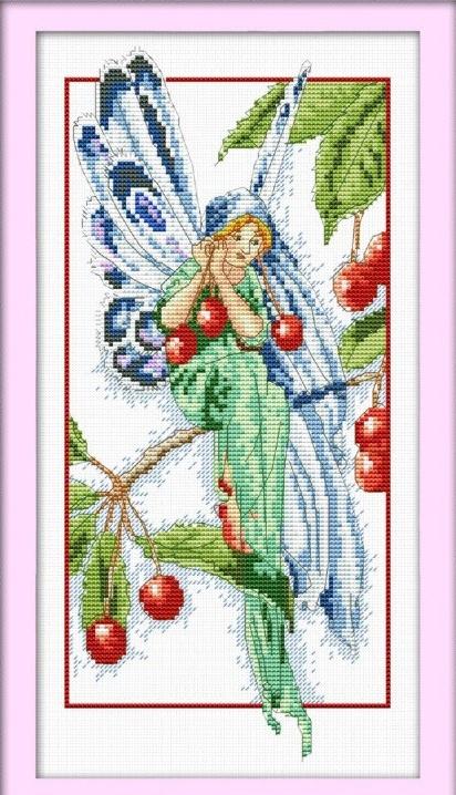 Набор для вышивания DOME Cherry fairy