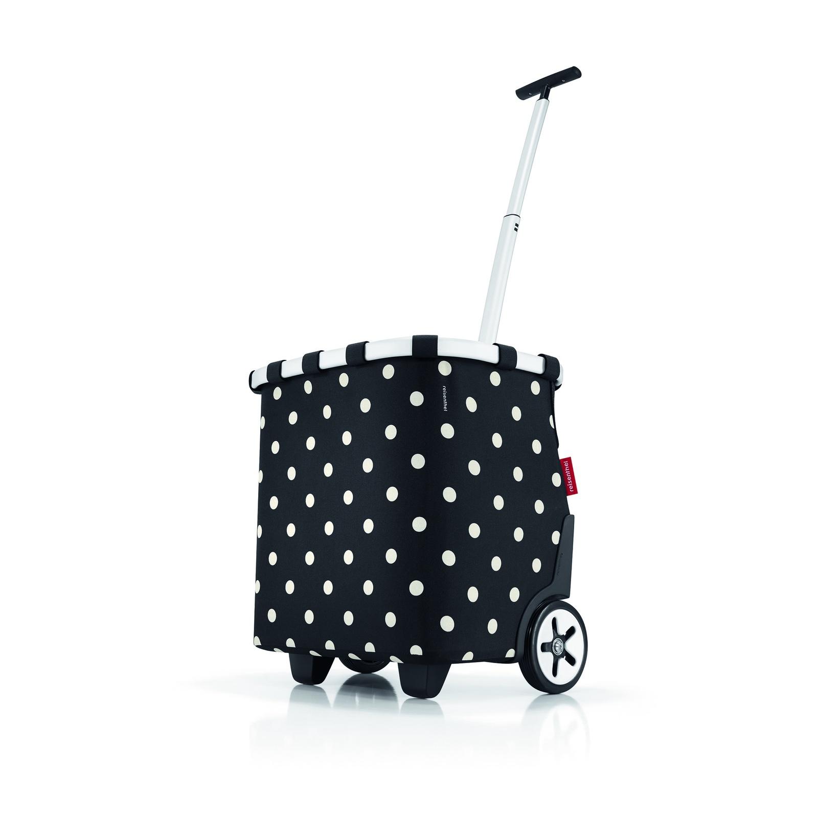 сумка-тележка reisenthel carrycruiser dark ruby