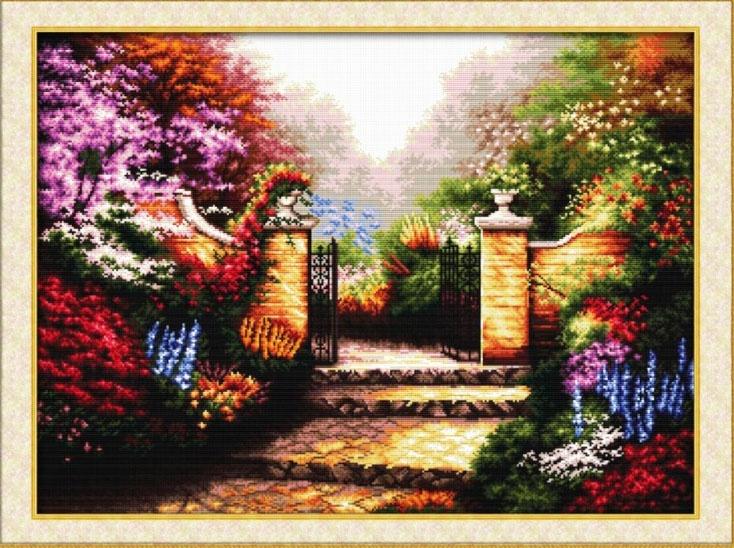 Набор для вышивания DOME Glamorous garden