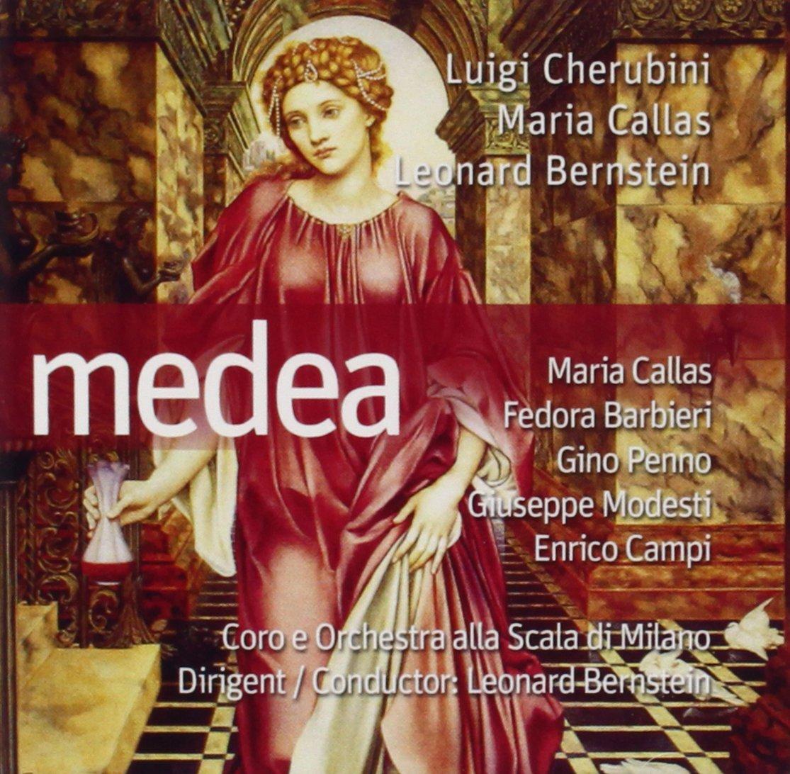 цена на Луиджи Керубини,Мария Каллас,Leonard Bernstein Luigi Cherubini, Maria Callas, Leonard Bernstein. Medea (2 CD)
