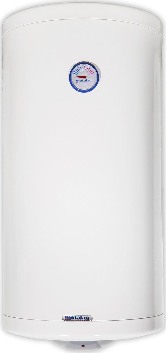 Водонагреватель накопительный электрический Metalac Heatleader MB 120 INOX R, белый