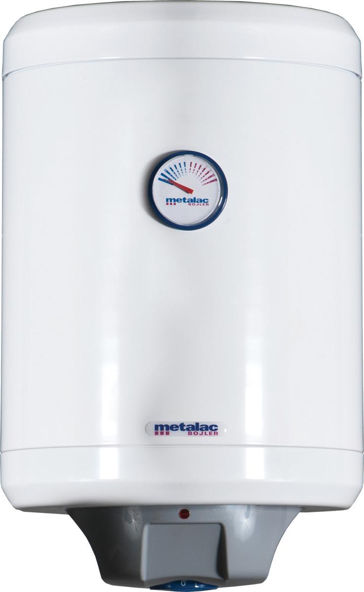 Водонагреватель накопительный электрический Metalac Heatleader MB 30 INOX SLIM R, белый