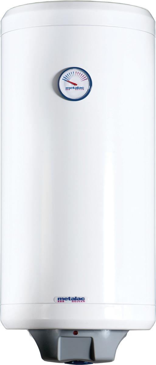 Водонагреватель накопительный электрический Metalac Heatleader MB 50 INOX SLIM R, белый