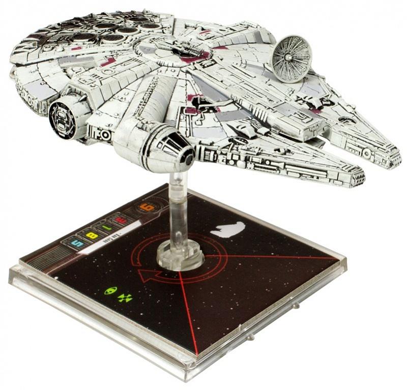 Настольная игра Hobby World Star Wars. X-Wing. Расширение Тысячелетний Сокол
