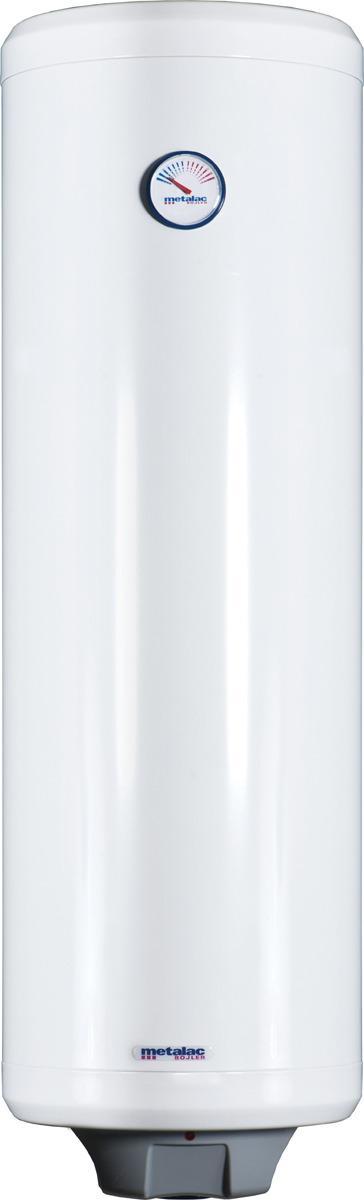 Водонагреватель накопительный электрический Metalac Heatleader MB 80 INOX SLIM R, белый