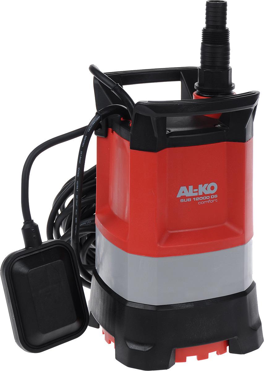 Фото - Погружной насос для чистой воды AL-KO SUB 12000 DS Comfort, 112824, серый, черный, красный насос погружной al ko sub 13000 ds premium