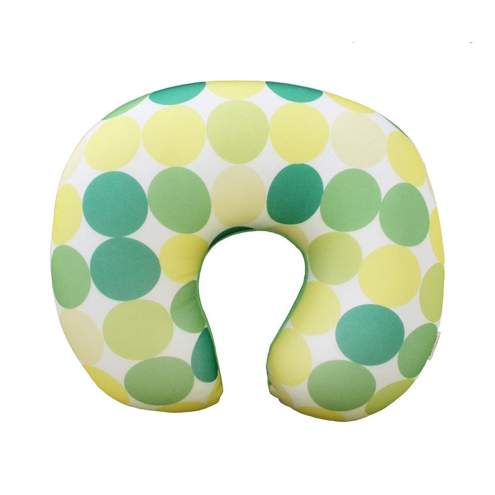 Подушка для шеи Gift republic Пузыри, светло-зеленый, желтый, салатовый